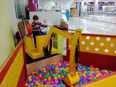 Купить аттракцион детский экскаватор из Китая