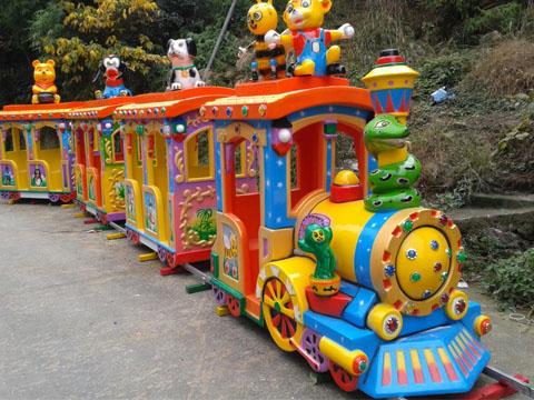 Купить аттракцион поезд на рельсах