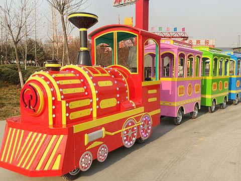 Детский аттракцион паровозик для продажи