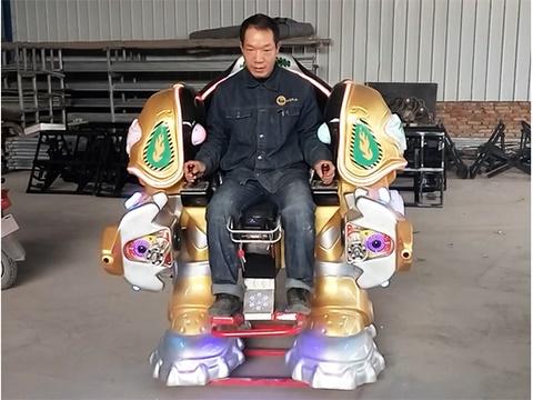 Купить аттракцион робот из Китая