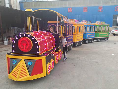 Купить аттракцион детский паровозик