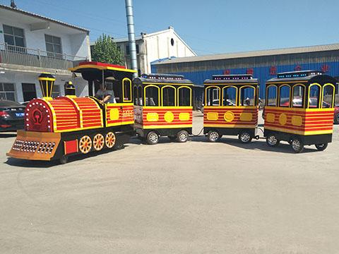 Купить детский аттракцион паровозик в Китае