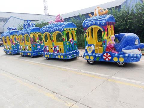 Детский паровозик аттракцион для продажи из Китая