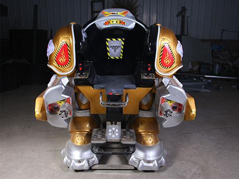 Купить аттракцион робот для парка из Китая